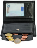 Euro wallet Stock Photos