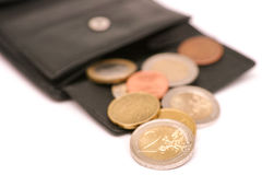 Euro wallet Royalty Free Stock Photography