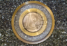 Euro wapenschild Stock Foto's