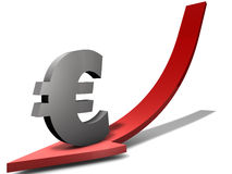 Euro Weakness Stock Images