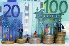 Euro wereld Royalty-vrije Stock Afbeeldingen