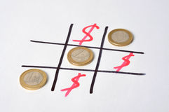 Euro Winning Stock Image