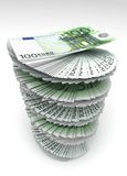 euro wirujący s Zdjęcia Royalty Free