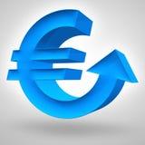 euro wzrost Zdjęcia Stock