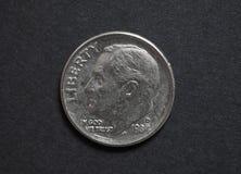 Euro & x28; EUR& x29; monete, valuta di Unione Europea & x28; EU& x29; Immagine Stock Libera da Diritti