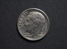Euro & x28; EUR& x29; muntstukken, munt van Europese Unie & x28; EU& x29; Royalty-vrije Stock Fotografie