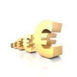 Euro Yield Royalty Free Stock Photos