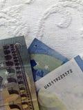 euro zauważa odbicie obrazy stock