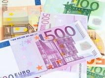 euro zauważa odbicie Obrazy Royalty Free