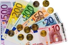 euro zauważa odbicie Fotografia Royalty Free