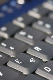 Euro-Zeichen auf Tastatur Lizenzfreies Stockfoto