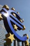 euro znak Obrazy Stock
