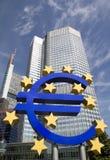 Euro Znak Obrazy Royalty Free