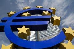 Euro Znak Zdjęcia Royalty Free