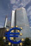 Euro Znak Zdjęcia Stock