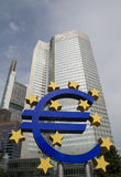 Euro Znak Zdjęcie Stock