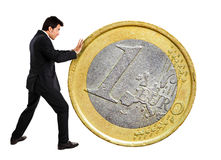 Euro zone crisis Royalty Free Stock Images