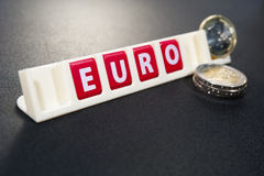 Euro economy Royalty Free Stock Images