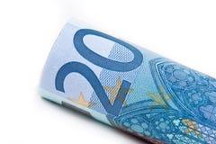 Euro Zwanzig Lizenzfreie Stockfotografie