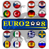 Euro2008 Royalty Free Stock Photo