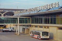 EuroAirport Bazel Mulhouse Freiburg Stock Afbeeldingen