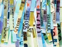 euroanmärkning royaltyfri fotografi