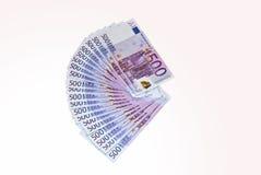 euroanmärkningar Arkivbilder