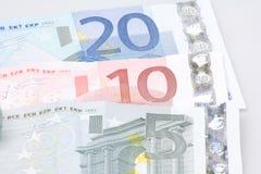 Euroanmerkungen Lizenzfreie Stockbilder