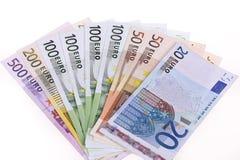 Euroanmerkungen Lizenzfreies Stockbild