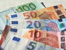 Euroanmerkungen, Europäische Gemeinschaft Stockbilder