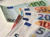 Euroanmerkungen, Europäische Gemeinschaft Stockfotos