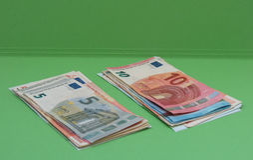 Euroanmerkungen, Europäische Gemeinschaft Lizenzfreie Stockfotografie