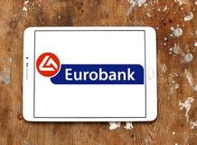 Eurobank embleem royalty-vrije stock afbeelding