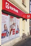 Eurobank, Societe Generale Stock Photo