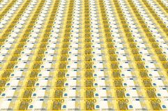 Eurobanknoten Stockbilder