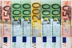 Eurobanknoten Stockfotografie