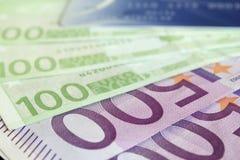 Eurobanknoten Lizenzfreies Stockfoto