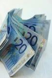20 Eurobanknoten Lizenzfreie Stockbilder