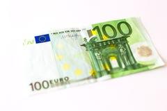 100 Eurobanknoten Lizenzfreies Stockfoto