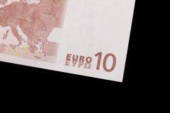 Eurobankwechsel Lizenzfreies Stockfoto