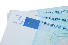Eurobankwechsel Stockbilder