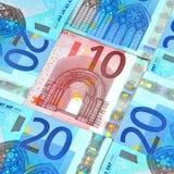 Eurobargeld Stockbilder