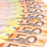 Eurobargeld Lizenzfreie Stockbilder