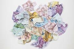 Eurobargeld Stockbild