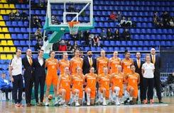 EuroBasket 2019 des femmes de FIBA : L'Ukraine v Pays-Bas Image libre de droits