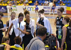 EuroBasket Women Germany Stock Photos
