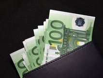 eurobetalning Royaltyfria Foton