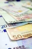 Eurobillls stockfoto
