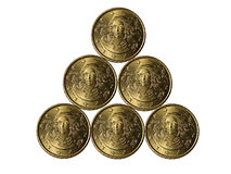 Eurocent Royalty Free Stock Photo