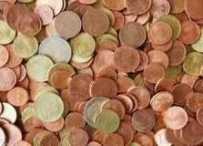 Eurocent Lizenzfreies Stockfoto